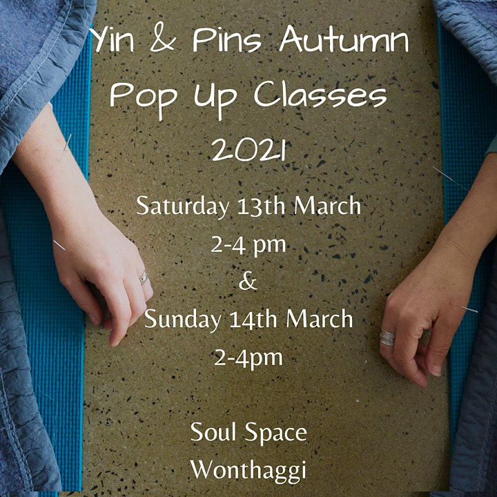 Yin & Pins Moving into Autumn 14th March image