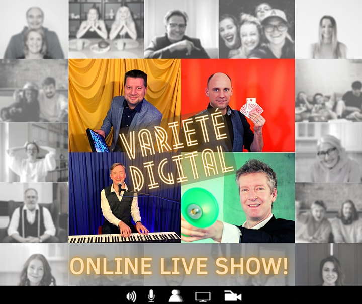 VARIETÉ DIGITAL – Online Live Show: Bild