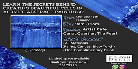 Learn the Art of Acrylic Cell Painting tickets