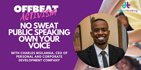 Own Your Voice: No Sweat Public Speaking tickets