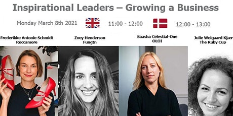 Inspirational Leaders - Growing a Business tickets
