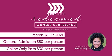 Redeemed 2021 Women's Conference tickets