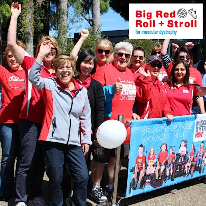Big Red Roll + Stroll image