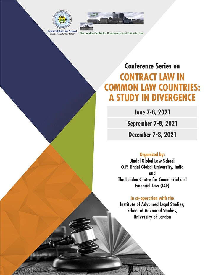 LCF/Jindal GLS Contract Law Conference Series  June - December 2021 image