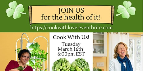 Cooking for The health of it tickets