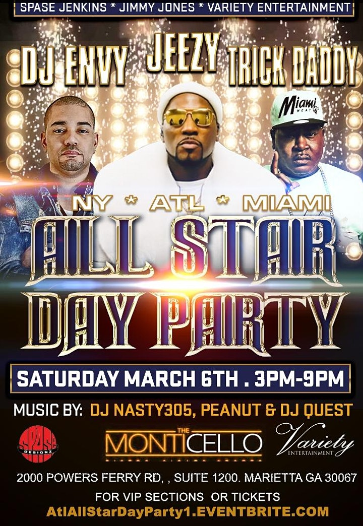 Atlanta All Star Day Party image