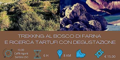 Trekking al Bosco di Farina e ricerca tartufi con degustazione biglietti