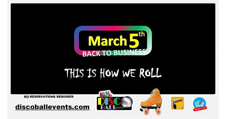 DISCO BALL events Roller Skating - SEE YOU AFTER THE LOCKDOWN image