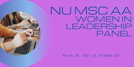 MSC AA Women in Leadership Panel tickets