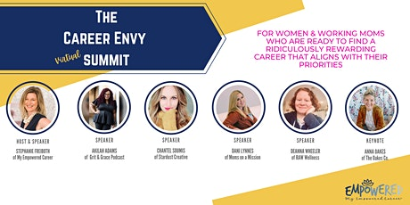 Career Envy Summit tickets