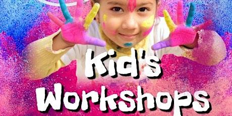 Kids Art & Craft Workshops- Bird House Painting tickets