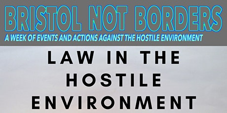 Law in the Hostile Environment tickets