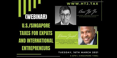 U.S./Singapore Taxes for Expats and International Entrepreneurs