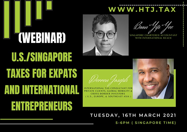 U.S./Singapore Taxes for Expats and International Entrepreneurs image