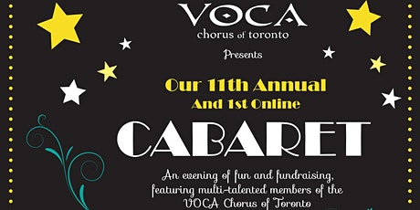 VOCA Chorus of Toronto 11th Annual - & First Online - Spring Cabaret tickets