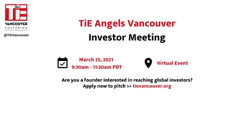 TiE Angels Vancouver Meeting tickets