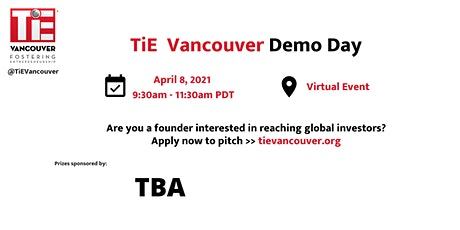 TiE Vancouver Demo Day tickets