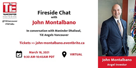 Fireside Chat with John Montalbano tickets