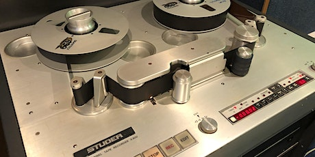Webinar: Setting-Up the Brakes on Open-Reel Tape Machines tickets