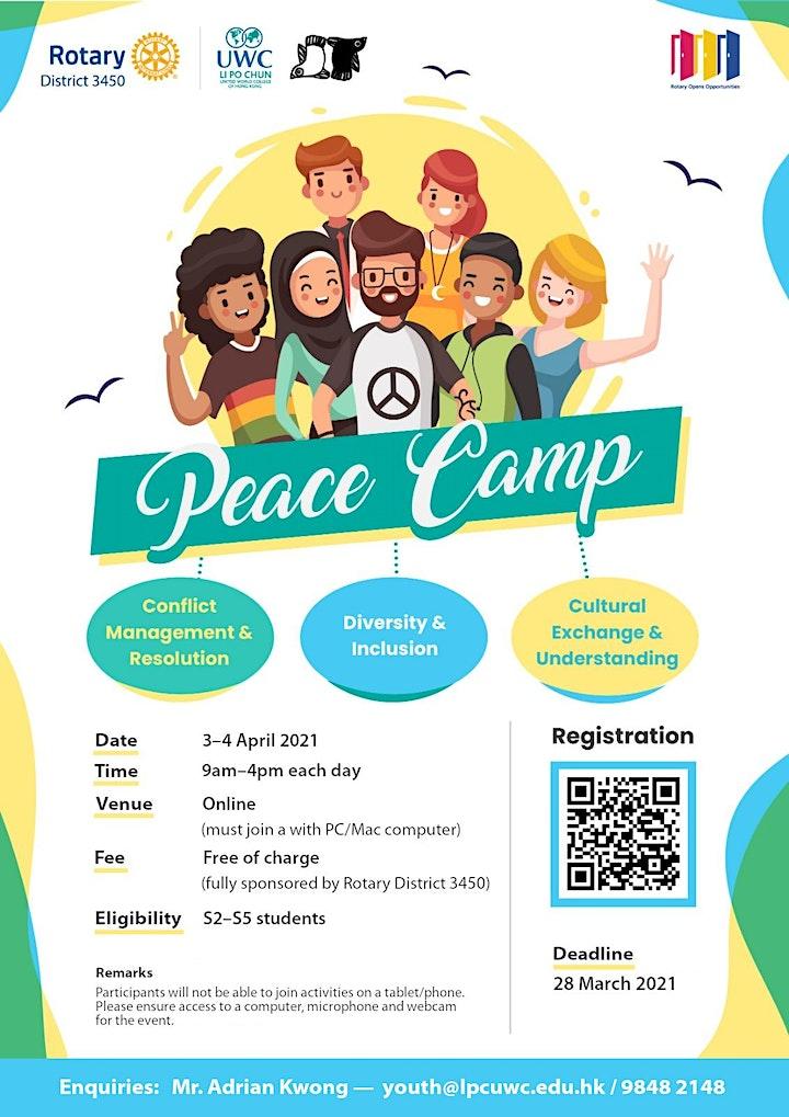 Rotary LPCUWC present: Peace Camp image