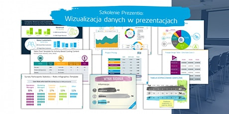 Wizualizacja danych w prezentacjach PPT tickets