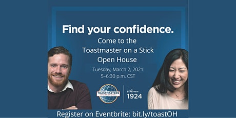 Toastmaster on a Stick Toastmasters – Virtual Open House tickets