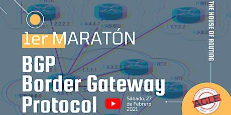 1er Maratón BGP entradas