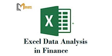 Excel Data Analysis in Finance1 Day Training in Ann Arbor, MI tickets