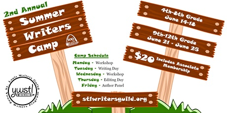 Summer Writers Camp tickets