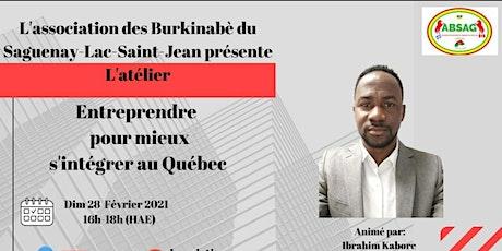Copie de Entreprendre pour mieux s'integrer au Québec billets