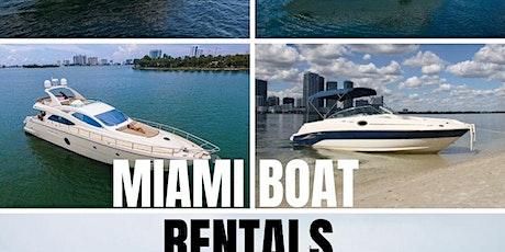 Luxury Yacht Rentals Miami tickets