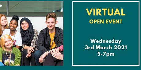 Virtual Open Event - March 2021 tickets