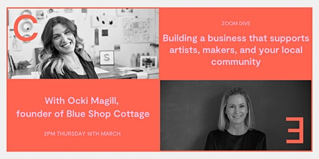 Building a business that supports artists, makers, and your local community tickets