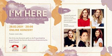 I´ M HERE - Benefizkonzert von Frauen für Frauen Tickets