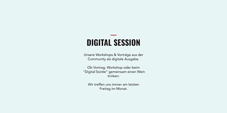 Lean In  Network Hamburg | Digital Session | März 2021| Purpose Tickets