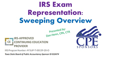 IRS Examination Representation: A Sweeping Overview tickets