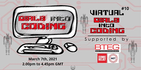 Virtual Girls Into Coding #10! Join us & Get involved! tickets