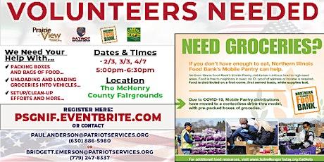 Veteran Community Drive-thru Food Bank -- Volunteer Sign-up! tickets