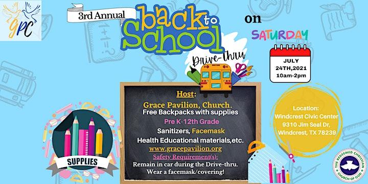 Grace Pavilion: Back -2- School Drive-Thru image