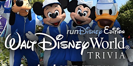 Walt Disney World Trivia - runDisney Edition ingressos
