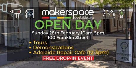 Makerspace Adelaide Open Day! tickets