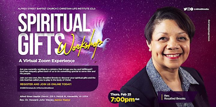 Spiritual Gifts Workshop image