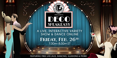 Deco Speakeasy: February Edition tickets