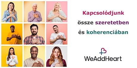 WeAddHeart Magyarország tickets