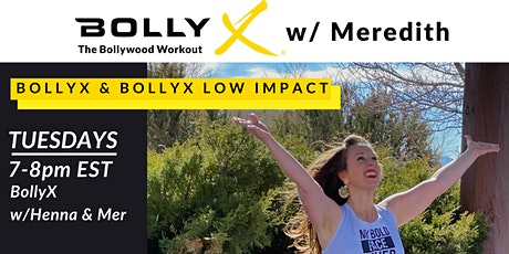 BollyX the Bollywood Workout on Tuesdays! tickets