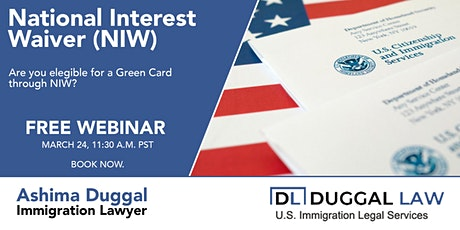 National Interest Waiver (NIW) Green Card tickets