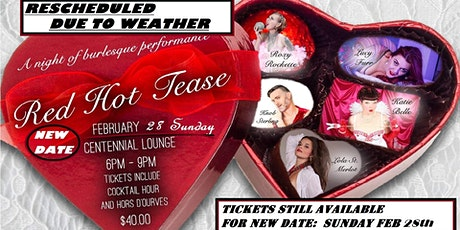 Red Hot Tease - Burlesque Performance tickets
