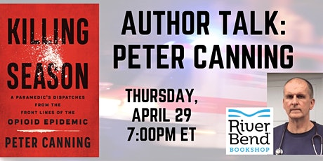 VIRTUAL BOOK LAUNCH Peter Canning: Killing Season tickets