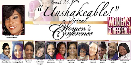 Unshakeable!! A Virtual Women's Conference tickets