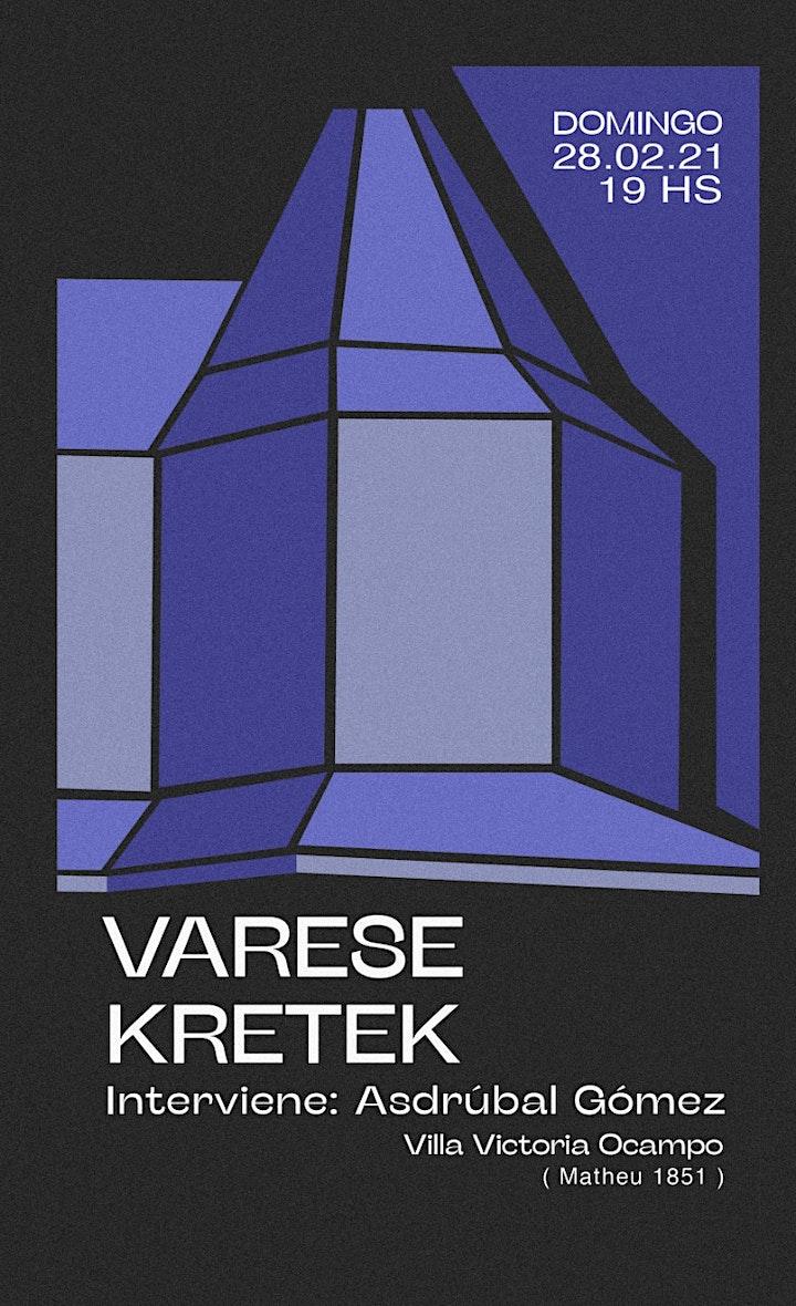 Varese + Kretek en Villa Victoria 28/2 image